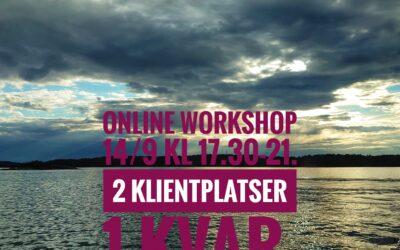 Online-workshop 14/9