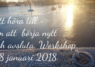 Jan 2018, Tema Att höra till